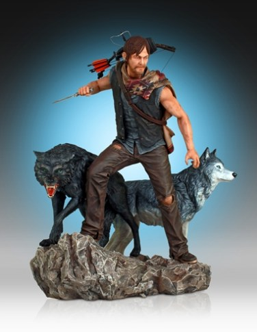 Daryl and the Wolves Exclusive (Web-Only) Statue