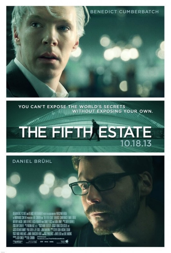 Poster For 'The Fifth Estate'