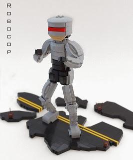 Chibi Lego Robocop by Lego Junkie