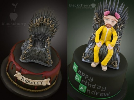 Breaking Bad And Game Of Thrones Get A Crossover On A Cake