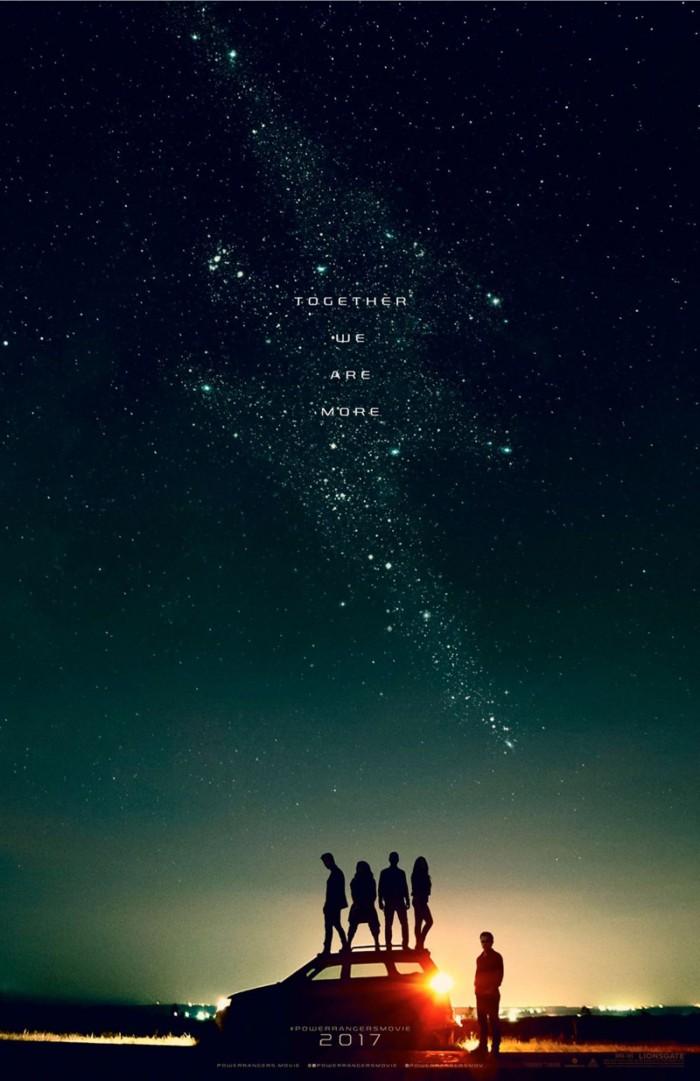 Power Rangers movie teaser poster