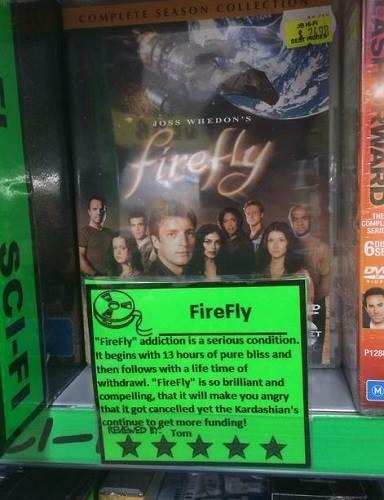 Video Store's Honest Review Of Firefly
