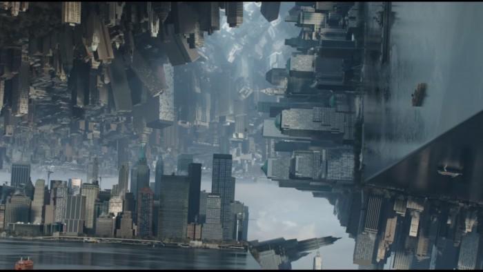 doctor strange 3d city inception