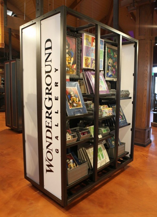 WonderGround Gallery Joins Marketplace Co-Op at Downtown Disney Marketplace