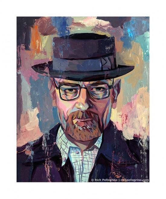 Rich Pellegrino's Heisenberg print now on sale