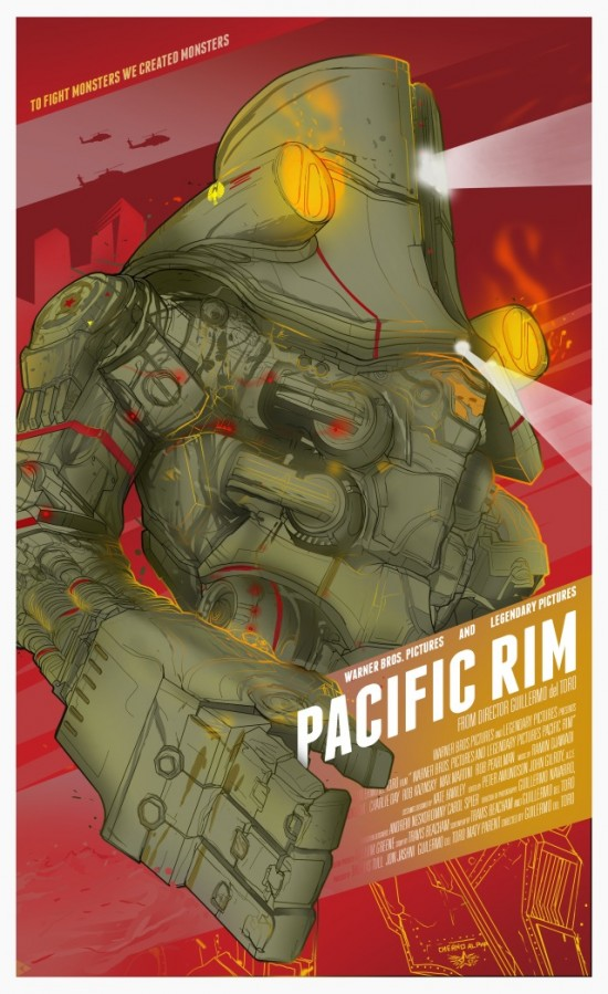 Berkay Daglar's Pacific Rim poster