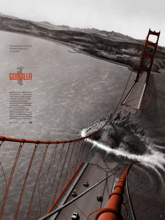 Tom Miatke's Godillza Golden Gate Destruction