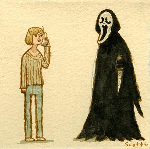Scott C's Great Showdown tribute to Scream