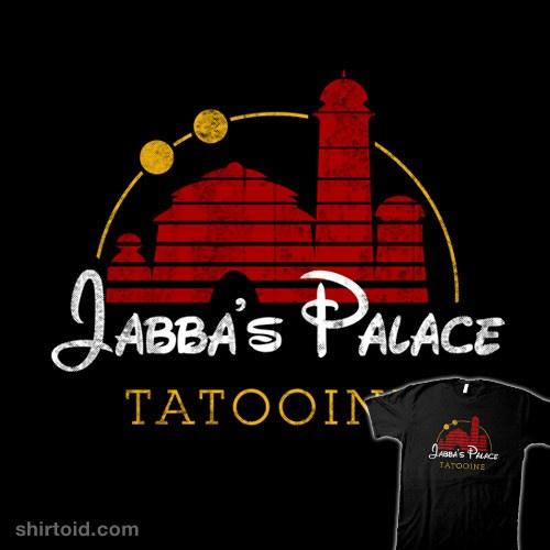 Jabba's Palace t-shirt
