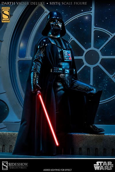 1/6 Darth Vader Deluxe Edition from Sideshow Toys