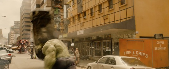 Avengers: Age of Ultron: The Incredible Hulk vs. Iron Man in Hulkbuster suit