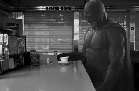 Ben Affleck Sad Batman meme