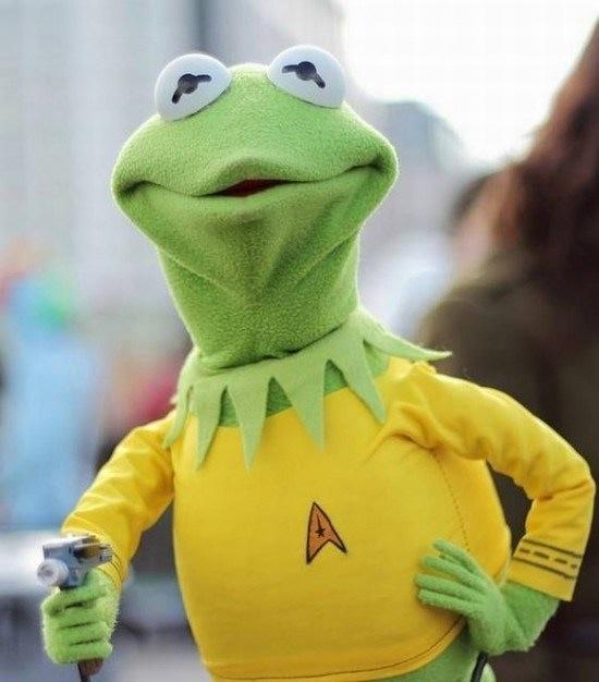Captain Kermit of the USS Enterprise