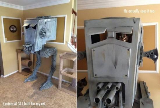 Star Wars AT-ST Cat Playhouse