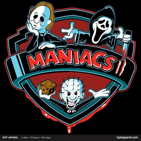 """horror-inspired design """"Maniacs 2"""""""