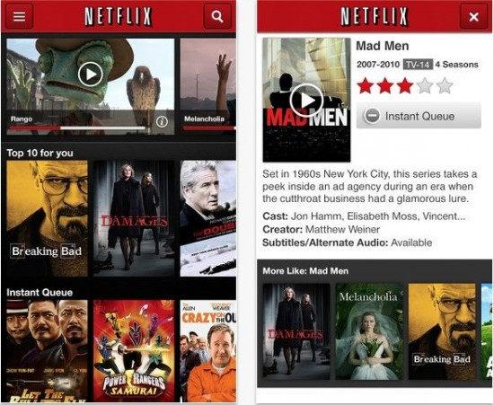 Netflix 4.0 For iOS Updated