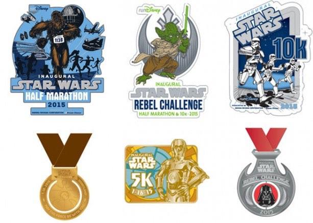 runDisney Star Wars Half Marathon Weekend
