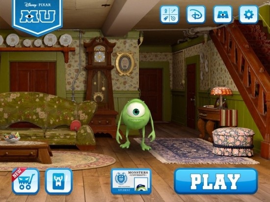 'Monsters University' App