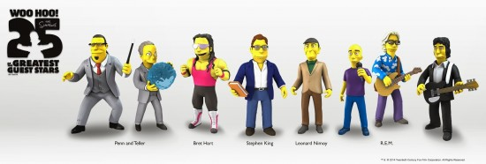 New Simpsons celebrity figures