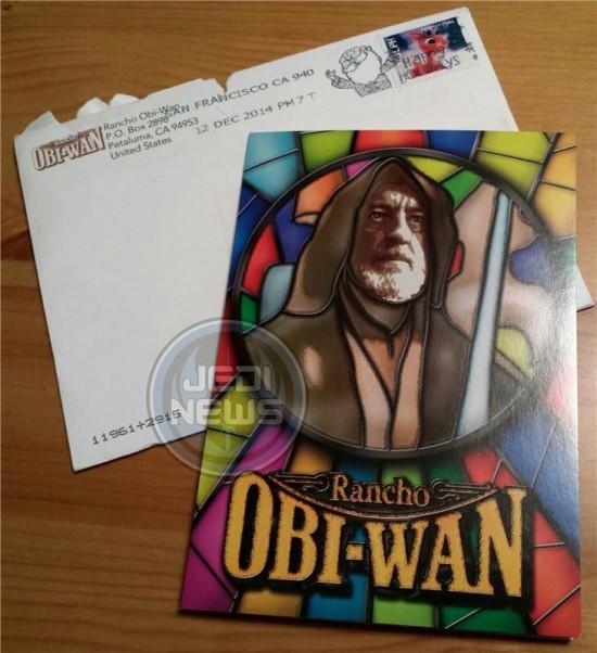 2014 Rancho Obi-Wan Holiday Card