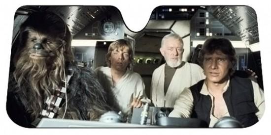 Star Wars Millennium Falcon Windshield Sunshade