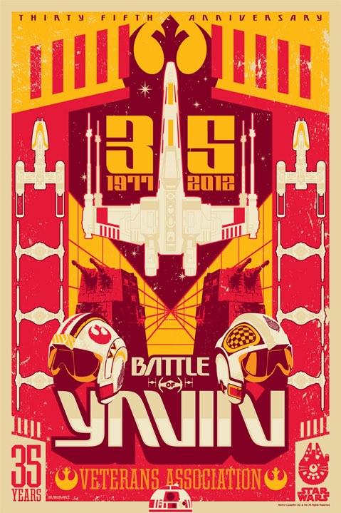Battle of Yavin by Mark Daniels