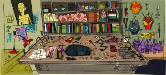 Chris Mitchell's Big Hero 6 concept art
