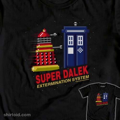 Super Exterminate t-shirt