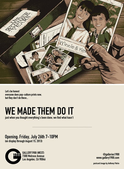Gallery1988's We Made Them Do It Art show