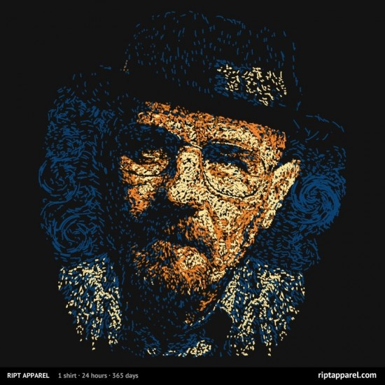 "Breaking Bad-inspired design ""Heisen Van Gogh"""