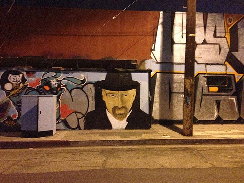 Heisenberg Lives, In Downtown Los Angeles