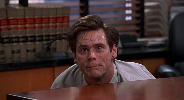 liar liar Jim Carrey