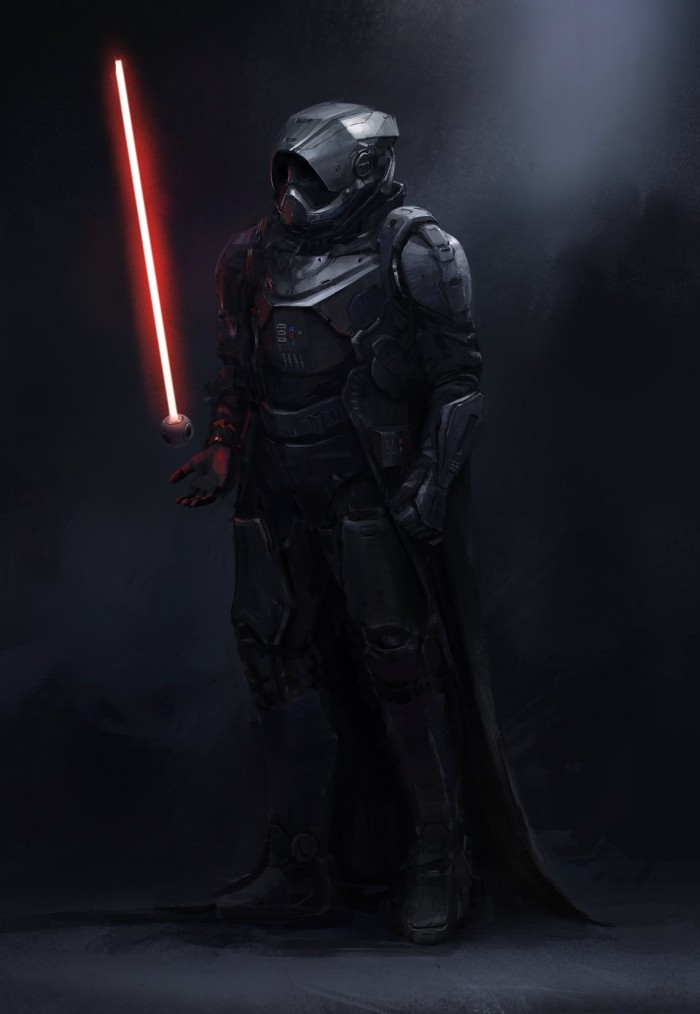 A Cool Darth Vader Re-Design, Complete With... A Mini-Death Star?