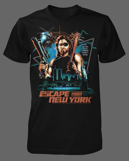 Escape from New York Shirts