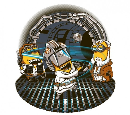 Star Wars/Despicable Me-inspired design
