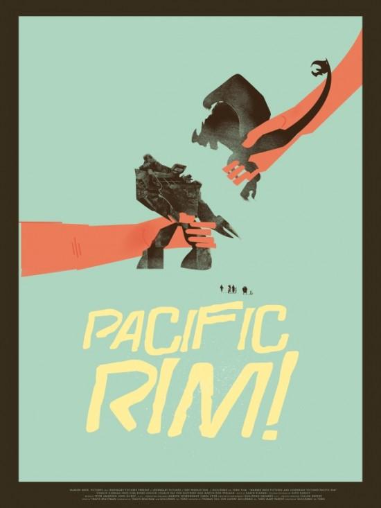 Fernando Reza's Pacific Rim poster
