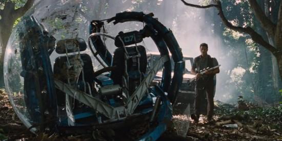 Gyrosphere Jurassic World Chris PRatt