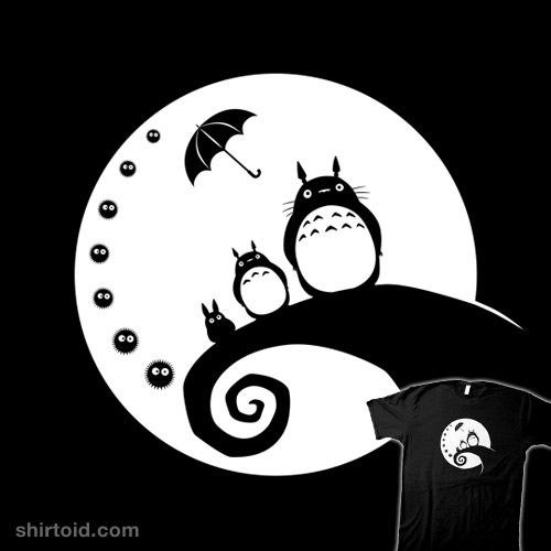 Totoro Before Christmas t-shirt
