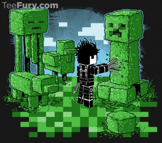 Steve Pixelhands t-shirt