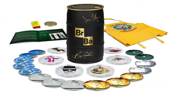Breaking Bad: The Complete Series (Signed Limited Edition Gold Barrel) [Blu-ray]