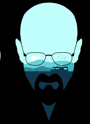 """Breaking Bad-inspired design """"Heisenberg""""."""