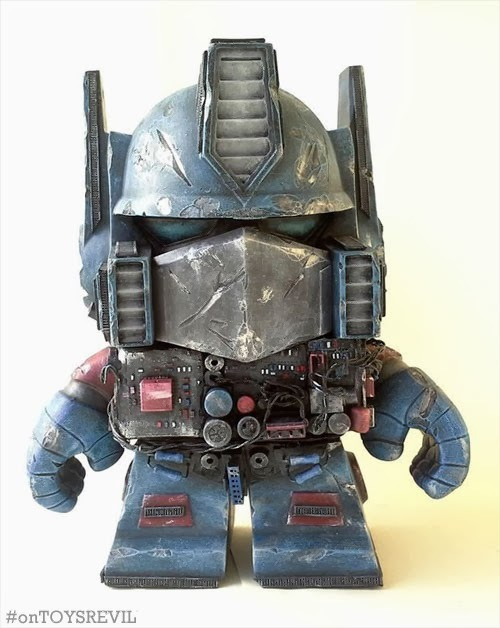 """Battle-torn Optimus"" by Nerviswr3k"