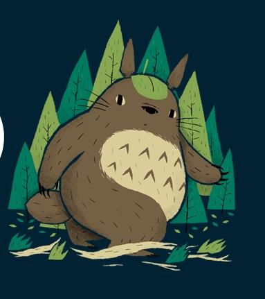 Totoro bigfoot