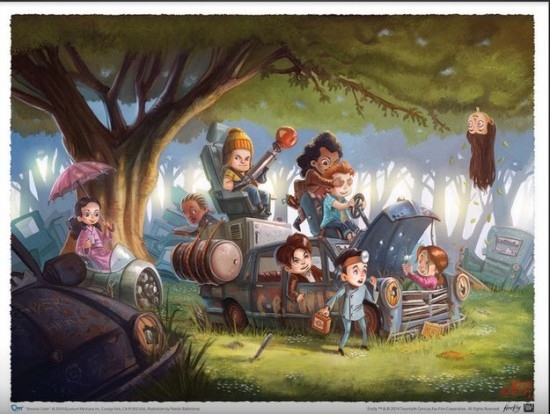 Firefly's Little Rascals print by Patrick Ballestero $15