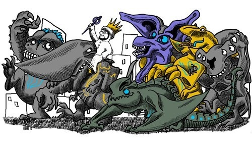 Where the Wild Kaiju Are