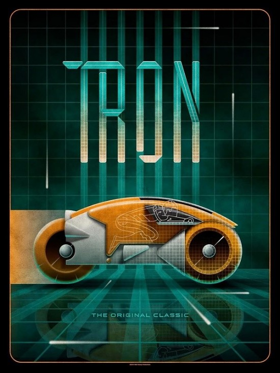 DKNG Studios' Tron poster