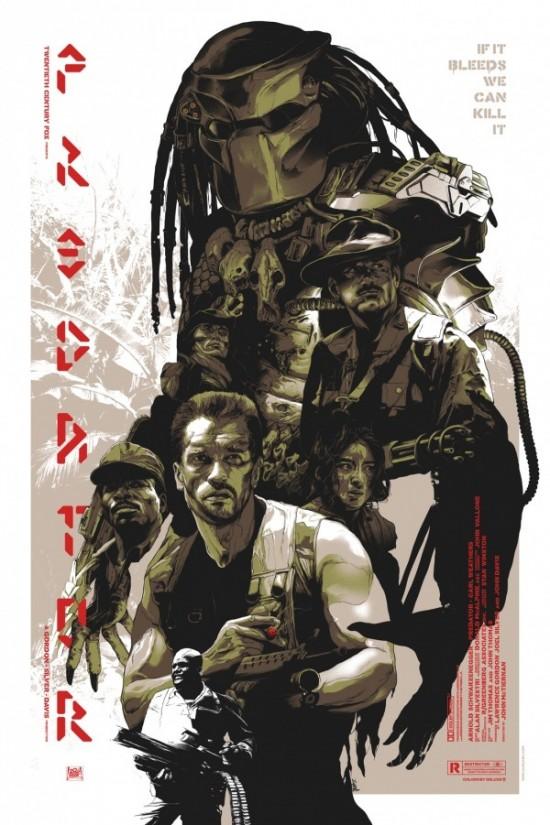 Grzegorz Domaradzki's Predator poster