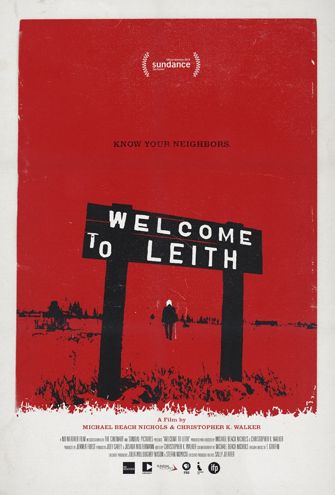 'Welcome To Leith' poster