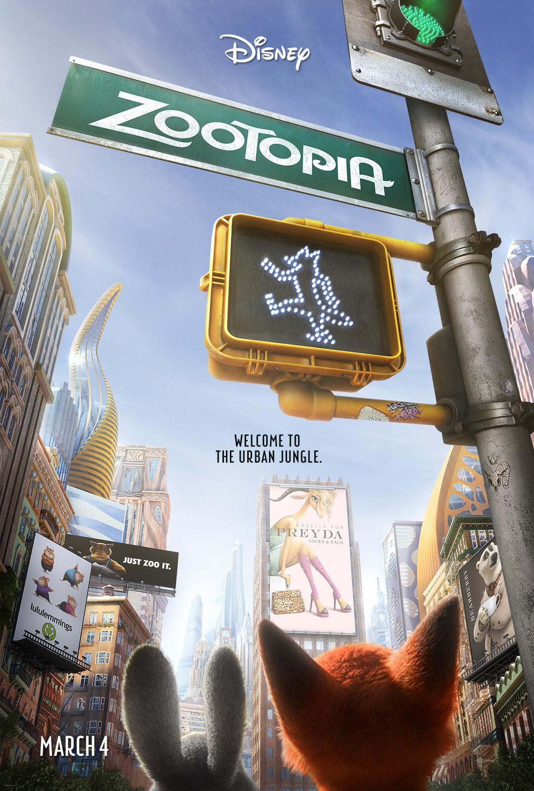 poster pelicula zootopia
