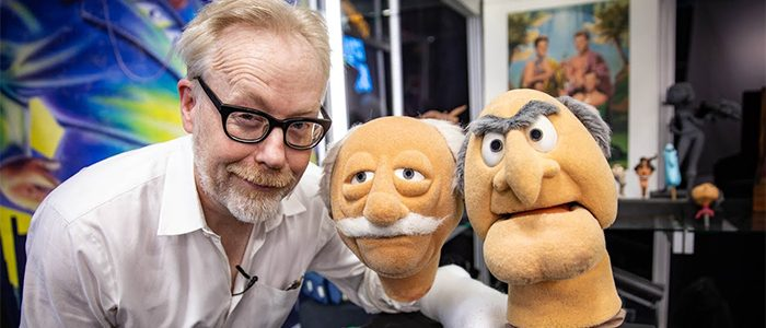 Statler and Waldorf Puppets